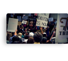 The Revolution Is Now. Canvas Print