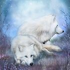 White Wolf Mates by Carol  Cavalaris