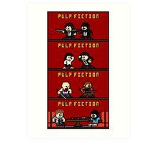Mega Pulp Fiction Art Print