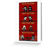 Mega Pulp Fiction Greeting Card