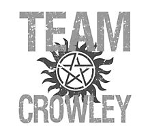Supernatural Team Crowley Photographic Print