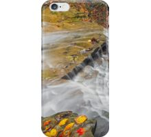 Looking Down Buttermilk Falls iPhone Case/Skin