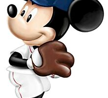The Red Sox & Mickey by mkzack