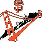 San Francisco Giants Stencil by dswift