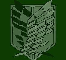 Flugel der Freiheit - Wings of Freedom in Emerald by CanisPicta