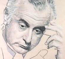 Gough Whitlam. 1916 - 2014. R.I.P. by Peter Brandt