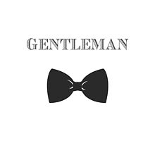 Gentleman Tablet Case by Courtney Ortegon