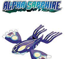 Pokemon Alpha Sapphire - Primal Kyogre by robkillsyou