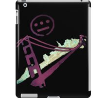 Stencil Golden Gate San Francisco Outline iPad Case/Skin