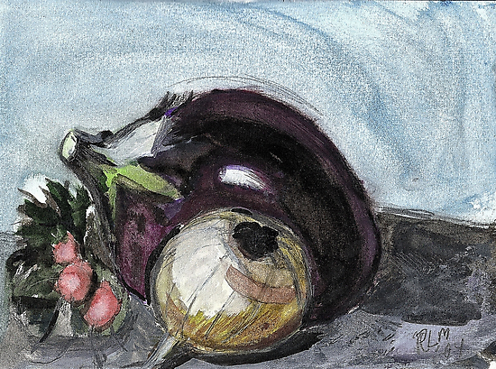 Eggplant,etc.. by RobynLee