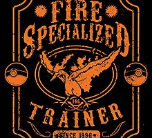 Fire Specialized Trainer by tiranocyrus