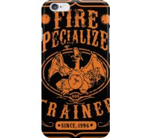 Fire Specialized Trainer II iPhone Case/Skin