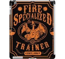 Fire Specialized Trainer II iPad Case/Skin
