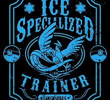 Ice Specialized Trainer by tiranocyrus