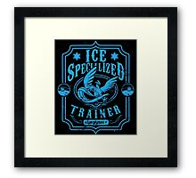 Ice Specialized Trainer Framed Print