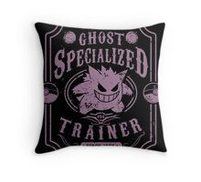 Ghost Specialized Trainer Throw Pillow