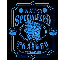 Water Specialized Trainer Photographic Print