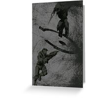 Running Riot - Halo Greeting Card