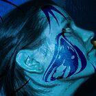 Tattoo Blue by GolemAura