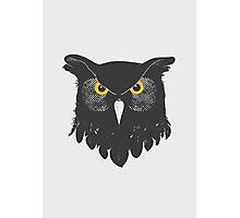 Owl Dark Photographic Print