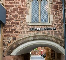 St Stephens Bow, Exeter by Sue Martin