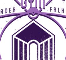 Violet Gym Sticker