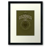Goldenrod Gym Framed Print
