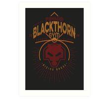 Blackthorn Gym Art Print