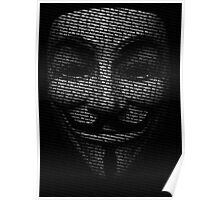 Anonymous V Poster