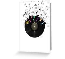 Shattered Vinyl Greeting Card