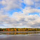 Hundred Acre Pond and Sky by Lisa Cook