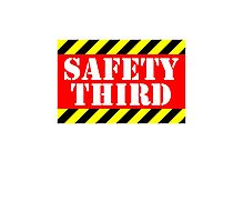 Safety third Photographic Print