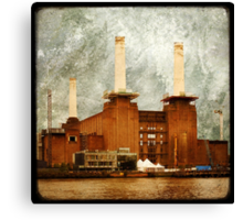 The Battersea Power Station - London Canvas Print