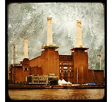 The Battersea Power Station - London Photographic Print