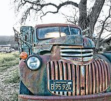 Vintage Chevy by randymir