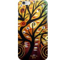 Abstract tree-9 iPhone Case/Skin