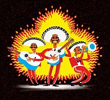 Red Hot Mariachi Band by drawgood