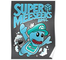 Super Meeseeks Bros. shirt iPhone iPad case pillow Poster