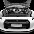 White GTR by Vicki Spindler (VHS Photography)