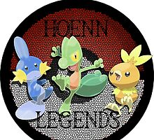 Pokemon Hoenn Legends design by ChaosSpyro