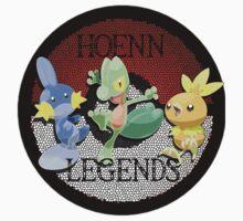 Pokemon Hoenn Legends design T-Shirt