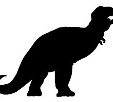 Tyrannosaurus Rex Silhouette by kwg2200