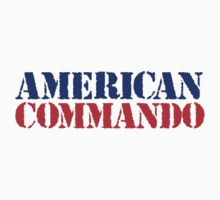 Cool American Commando T-Shirt by Albany Retro