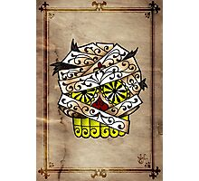 The Mummy Sugar Skull Photographic Print