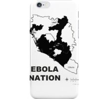 Ebola Ahhh, That's Messed Up iPhone Case/Skin
