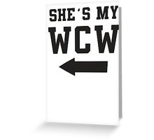 She's My WCW / He's My MCM Best Friends Shirts, Matching Shirts, Bff, Besties, Pairs,  Greeting Card