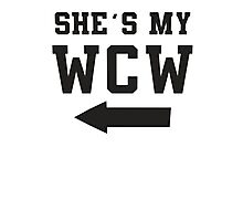 She's My WCW / He's My MCM Best Friends Shirts, Matching Shirts, Bff, Besties, Pairs,  Photographic Print