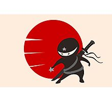 LITTLE NINJA STAR Photographic Print