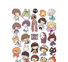 Studio Ghibli by LTEP