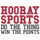 Hooray Sports by GregWR